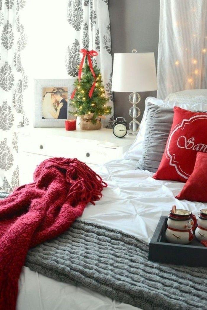 Schlafzimmer Zimmer Weihnachtlich Dekorieren