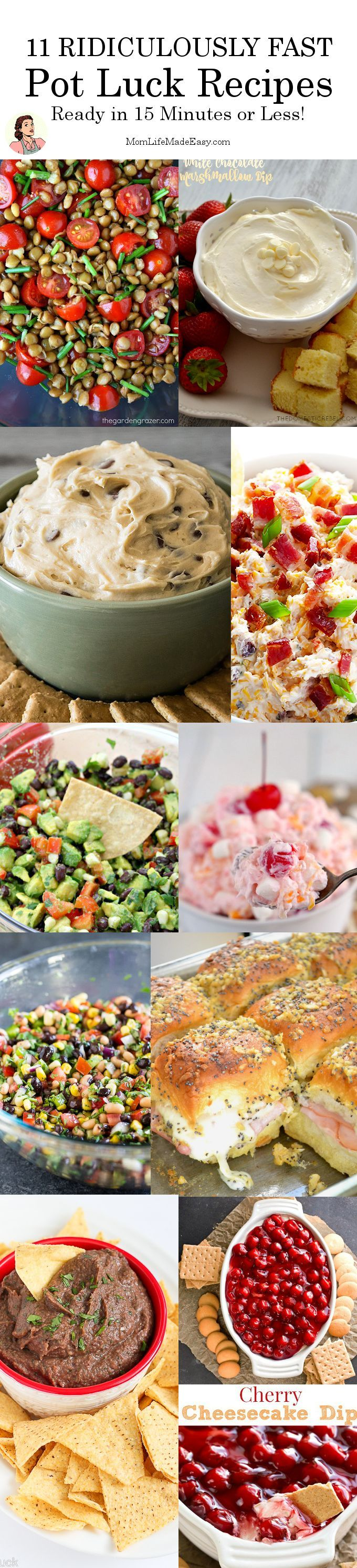 10 Last Minute Pot Luck Recipes