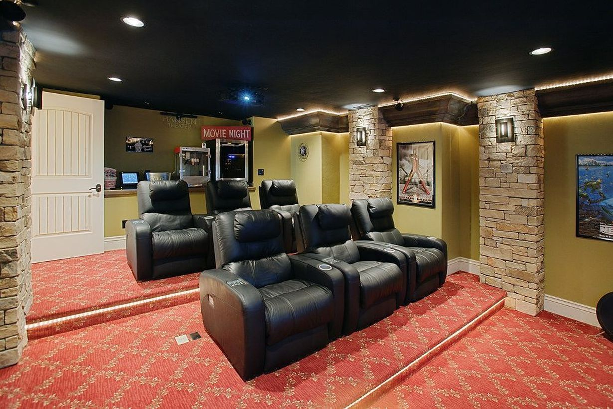 45 Inexpensive Small Movie Room Design Ideas For Family S