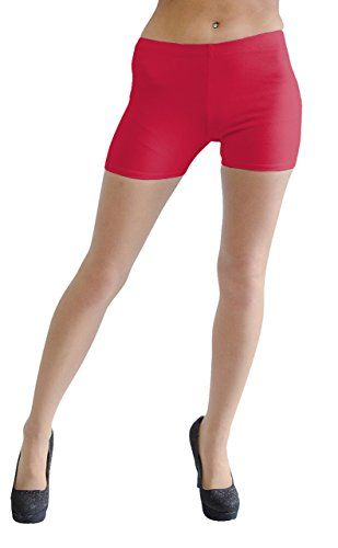 Vivians Fashions Legging Shorts  Cotton Misses Size Red 2X ** Want to know more, click on the image.