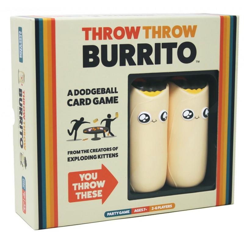 Throw Throw Burrito Is Een Partyspel Van De Makers Van Exploding