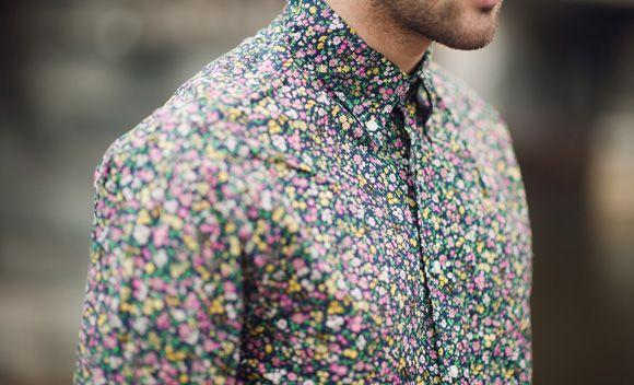 Style Inspiration Floral Prints Top Mode Chemise A Fleur Homme