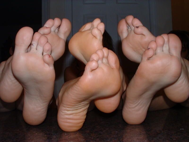 Foot Sexy Sole Wrinkled