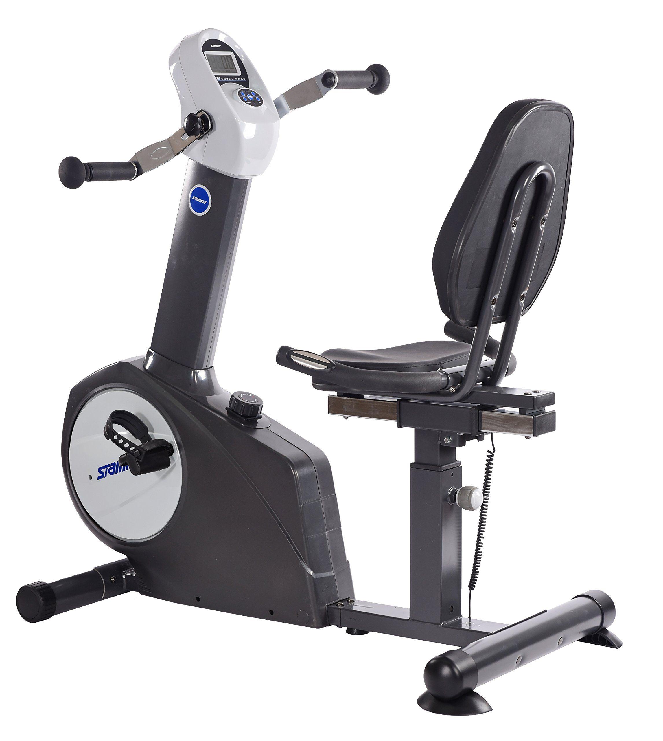 Stamina Elite Total Body Recumbent Bike Biking Workout Lower