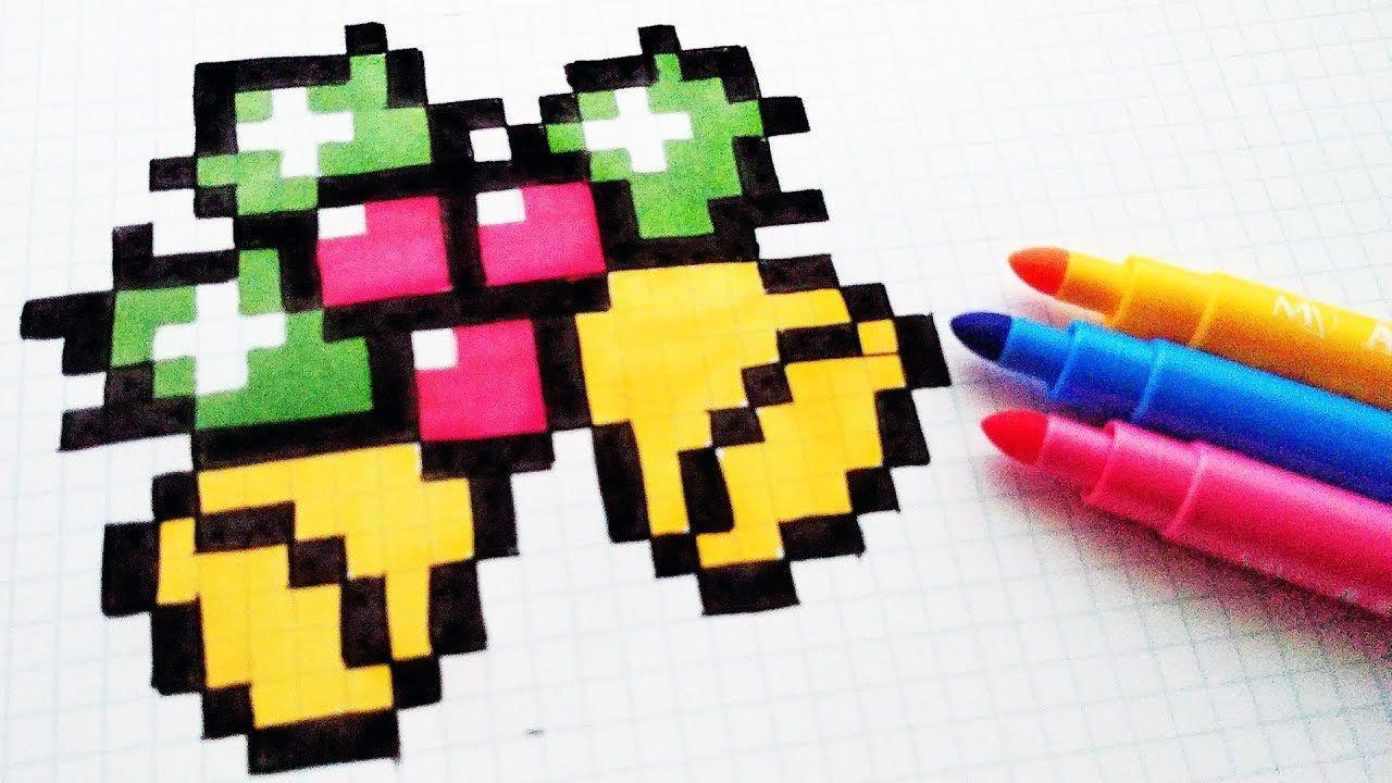 Handmade Pixel Art How To Draw A Christmas Bells Pixelart