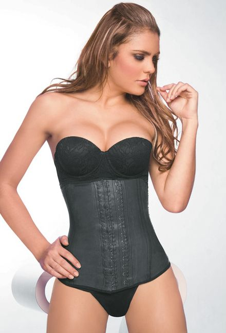 ad57e050f6625 Long Latex Waist Cincher - The ultimate waist training corset - simply the  best! Perfect for getting that hour glass look. This body shaper has double  ...