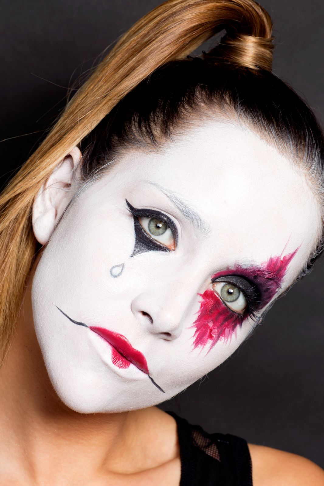 6 No-Clothes-Required Halloween Costumes | Halloween make up ...