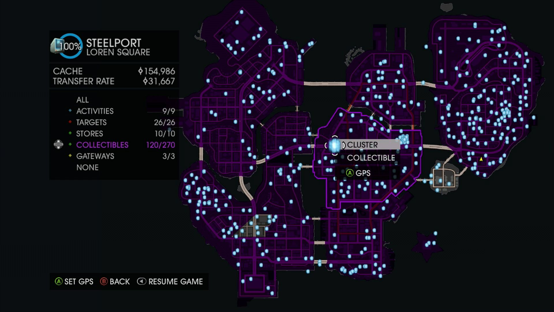 Saints Row 4 Clusters Locations With Images Saints Row 4