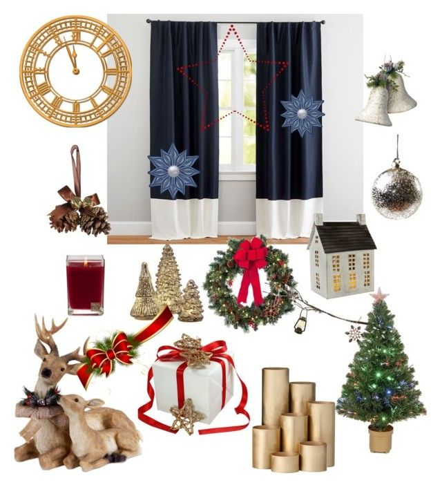 """""""Без названия #234"""" by verest ❤ liked on Polyvore featuring Pottery Barn, Merske, Aromatique, National Tree Company, Order Home Collection, ferm LIVING, Shishi and Improvements"""