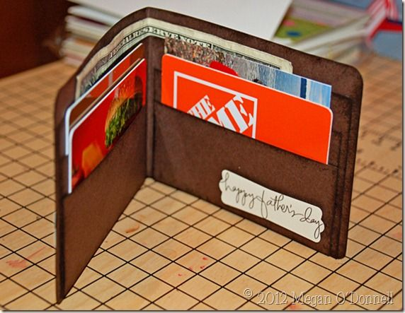You Re Filling Dad S Wallet With Images Gift Card Holder