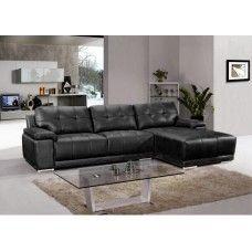 Geneva L Shaped Leather 3 Seater Sofa Lounge Couch Corner Chaise Best Corner Sofa Corner Sofa Australia Lounge Sofa