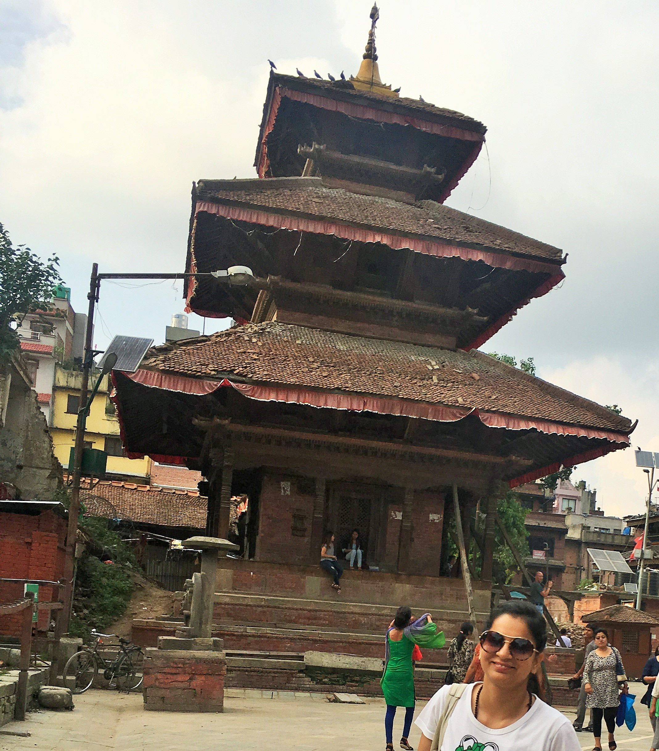 Durbar Square Kathmandu Nepal This is one the building of