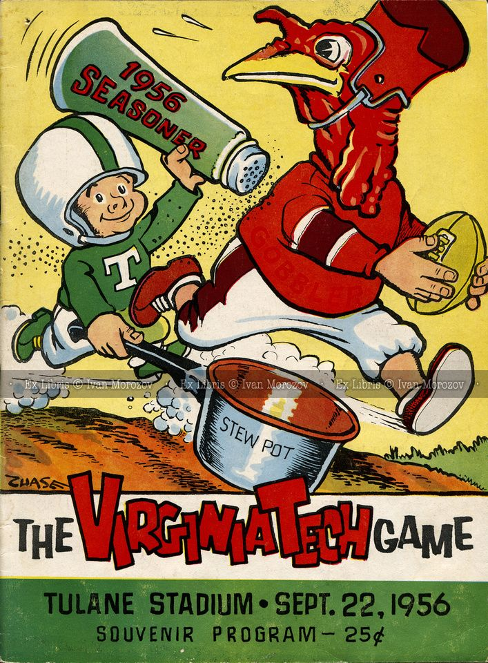 Pin on Virginia Tech Football Game Programs