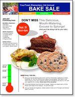 food fundraiser flyer idea