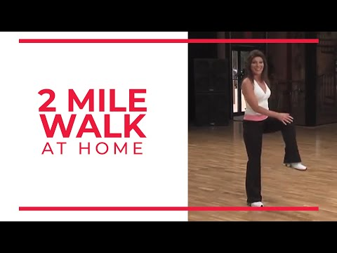 2 mile walk  at home workouts  youtube  at home