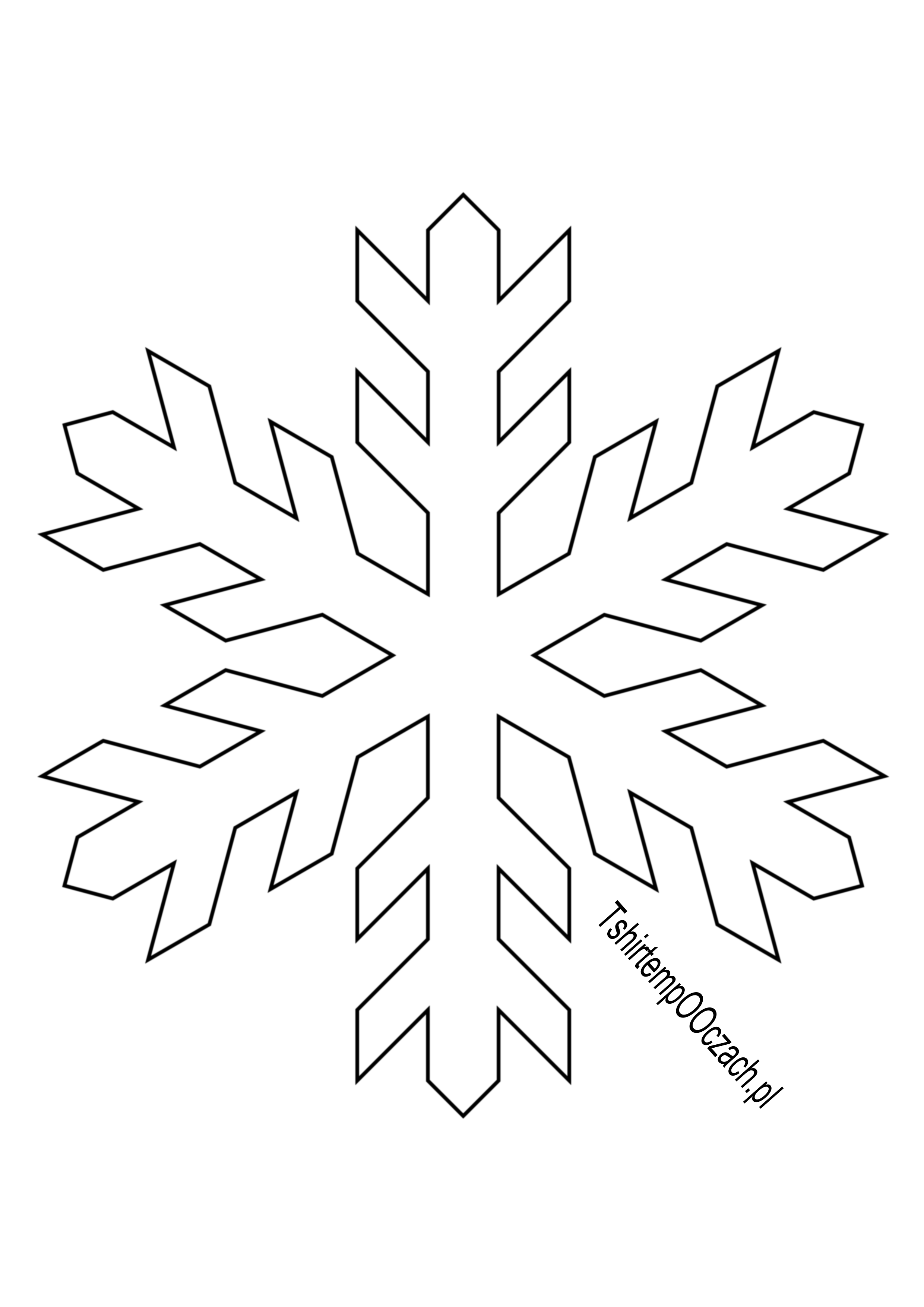 Platki Sniegu Do Wydruku Szukaj W Google Home Decor Christmas Decor