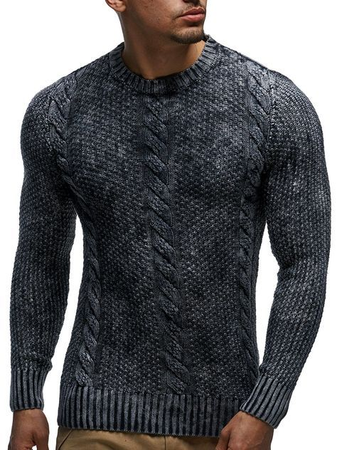 LEIF NELSON Herren Strickpullover LN6005; Grš§e S, Anthrazit: Amazon.de:  Bekleidung | Свитер's | Pinterest | Nelson F.C., Mens gear and Man outfit