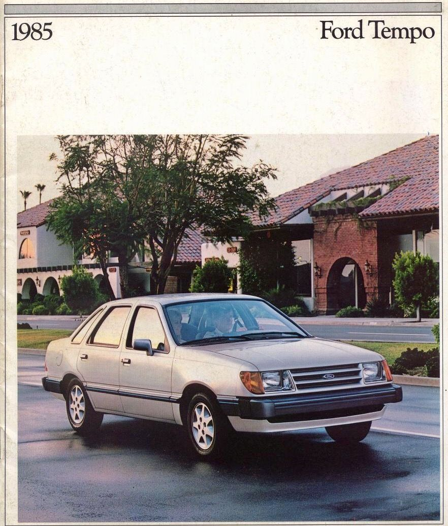 1985 ford tempo 1980s fords mercurys pinterest ford rh pinterest com 1988 Ford Tempo 1990 Ford Tempo GL Speed