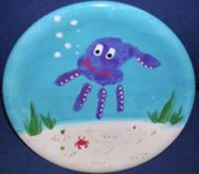 Ocean octopus | fun crafts | Pinterest | Ceramic plates Jellyfish and Ocean & Ocean octopus | fun crafts | Pinterest | Ceramic plates Jellyfish ...