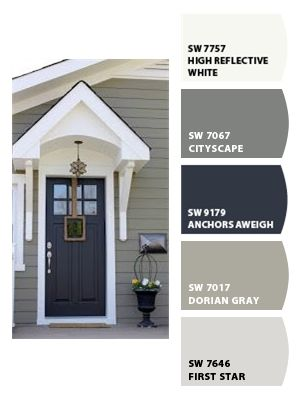 Paint Colors From Colorsnap By Sherwin Williams Exterior Paint