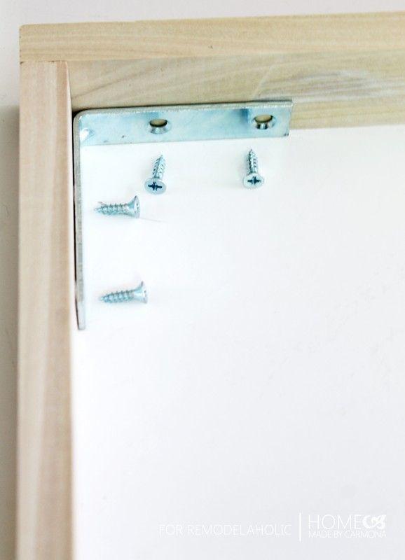 Floating Frame - connectors2 - for Remodelaholic | ART | Pinterest ...