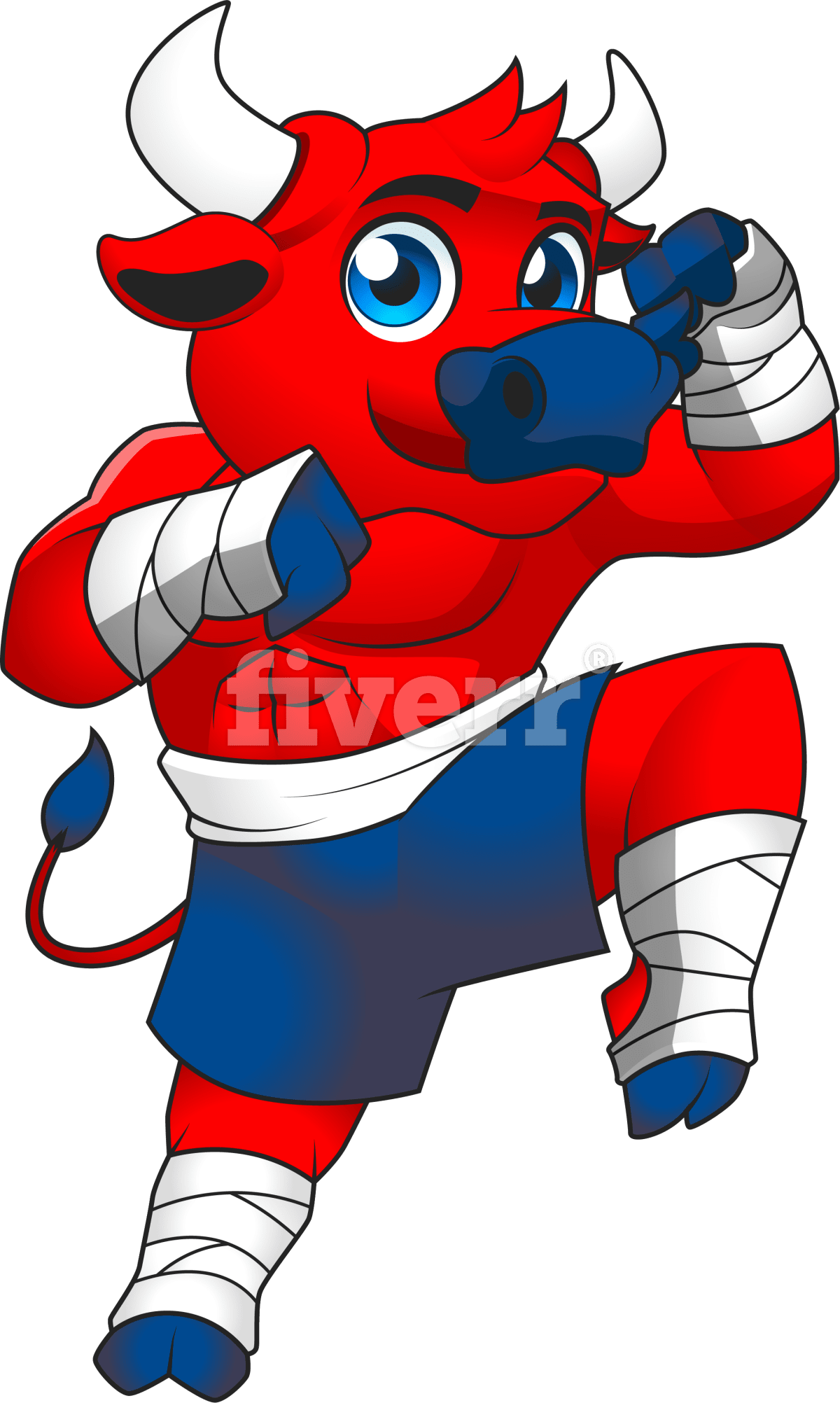 Create incredible cartoon mascot logo character Logo