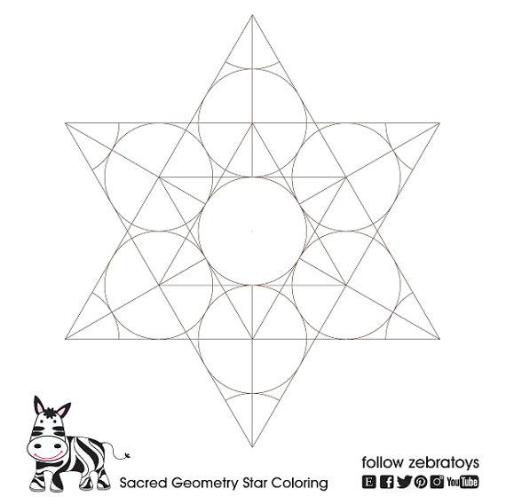 Star Of David Sacred Geometry Pattern Spiritual Strength Rosh