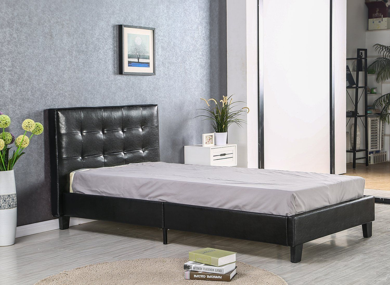 Bedroom Twin Zinus Modern Studio 10 Inch Platform 2000h Metal Bed