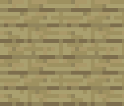 Pixelated Wooden Planks Birch Large By Elsielevelsup