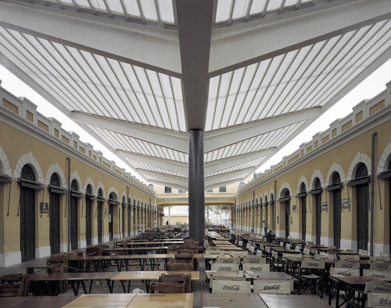 Galeria De Cobertura Mercado Publico De Florianopolis Aleph Zero 8 Roof Architecture Affordable Roofing Fibreglass Roof