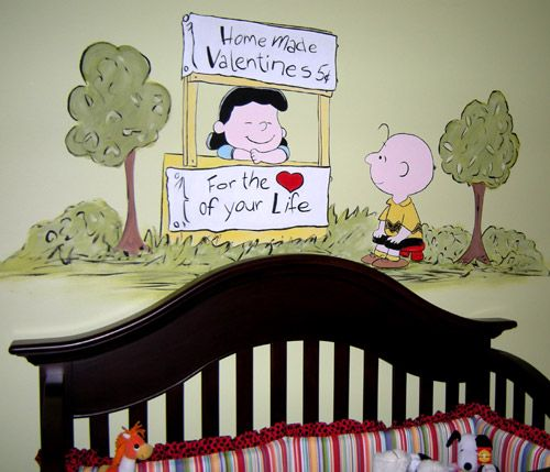 Charlie Brown Motif Ideas For Nursery Decor