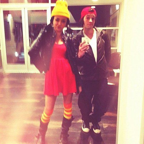 TJ and Spinelli From Recess Couple costume ideas, Costumes and - his and her halloween costume ideas