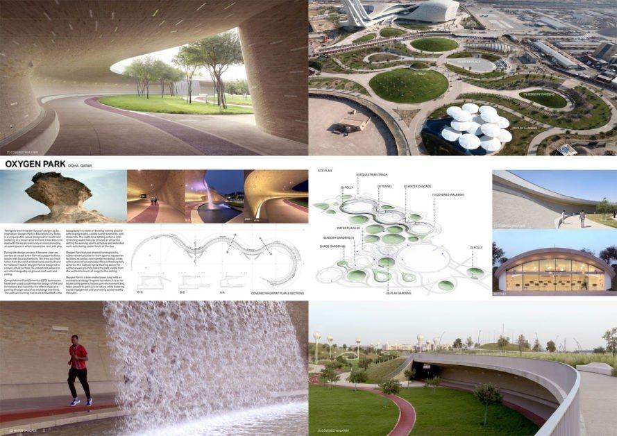 Subterranean Oxygen Park Is A Breath Of Fresh Air In The Qatari Desert Park Oxygen Education City