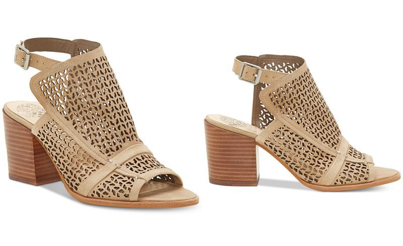 Vince Camuto Lendia Perforated Shooties