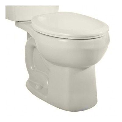 American Standard H2option Dual Flush Round Toilet Bowl Toilet