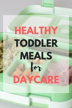Healthy Toddler Meal Ideas for Daycare images