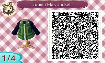 Naruto Qr Code Jounin Qr Codes Animal Crossing Animal Crossing
