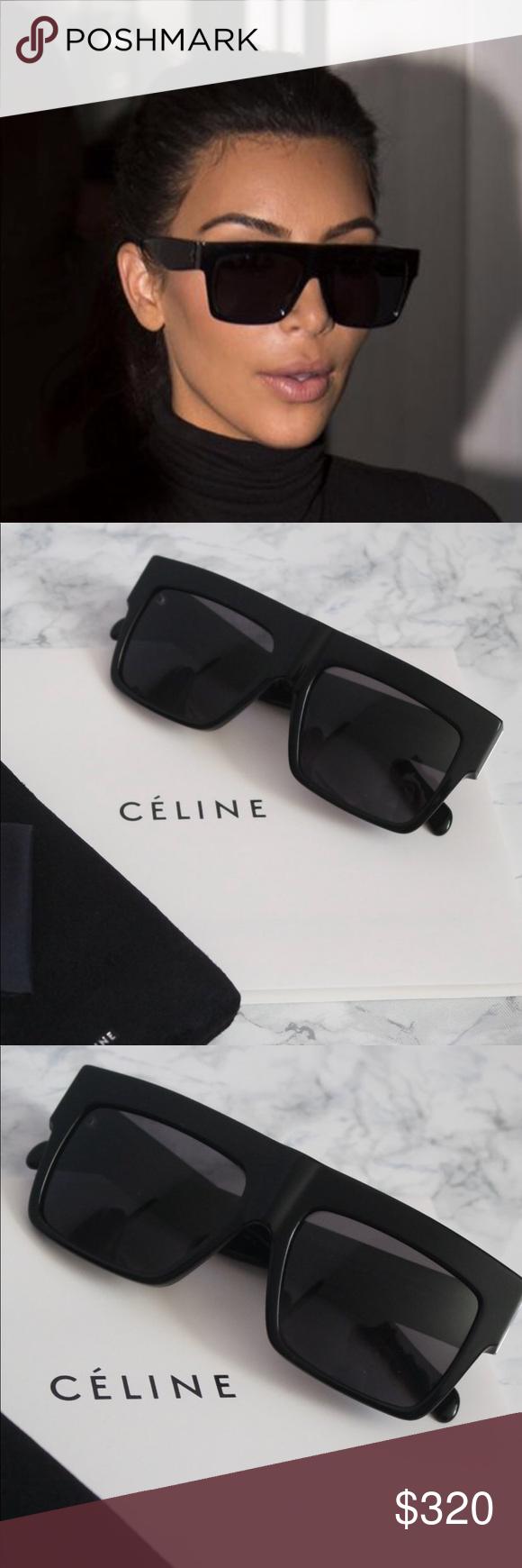 f65b8467f79e Black Celine ZZ Top sunglasses 😎😎😎🕶🕶🕶 Brand new Celine CL 41756