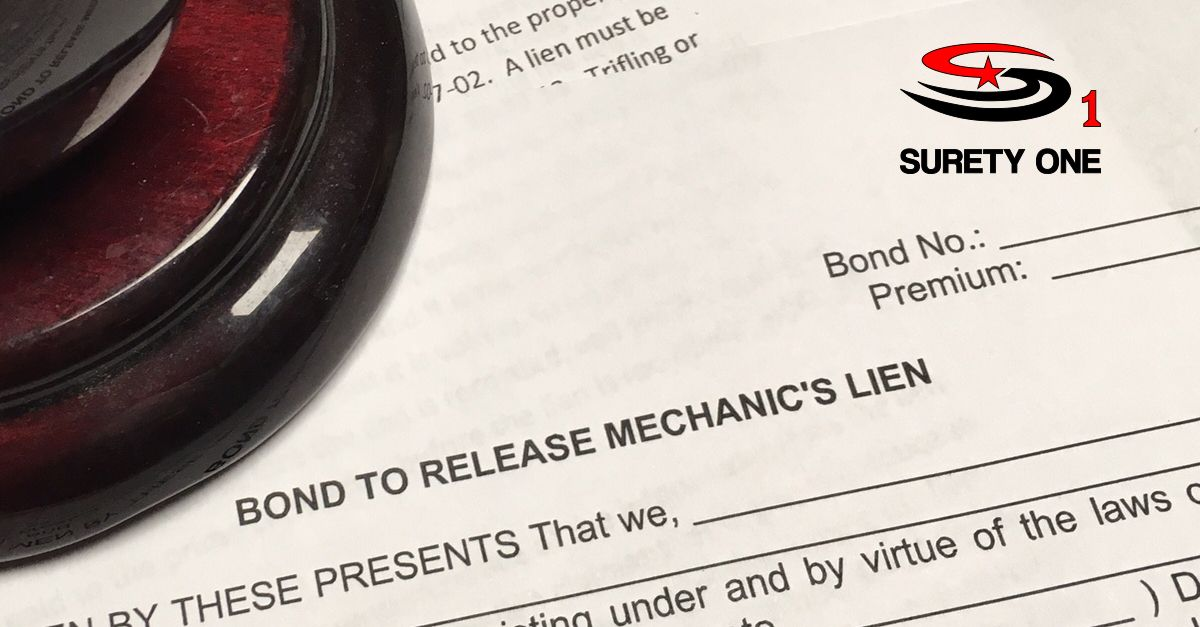 A MechanicS Lien Discharge Bond Is A