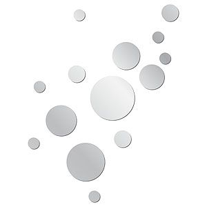 Mirror Dot Acrylic Wall Decal Could Look Like Bubbles