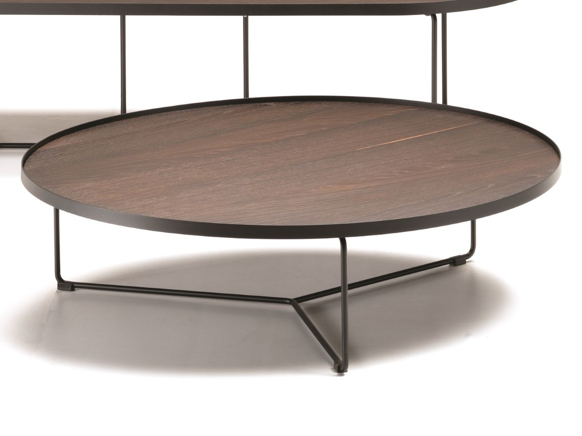 Cattelan Italia Couchtisch Billy Wood D100cm Kaufen Im Borono Online Shop Coffe Table Wood Coffee Table