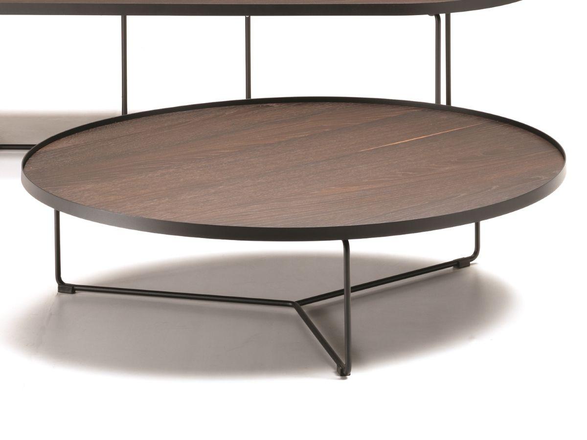 cattelan italia couchtisch billy wood d100cm cattelan italia couchtische italien. Black Bedroom Furniture Sets. Home Design Ideas
