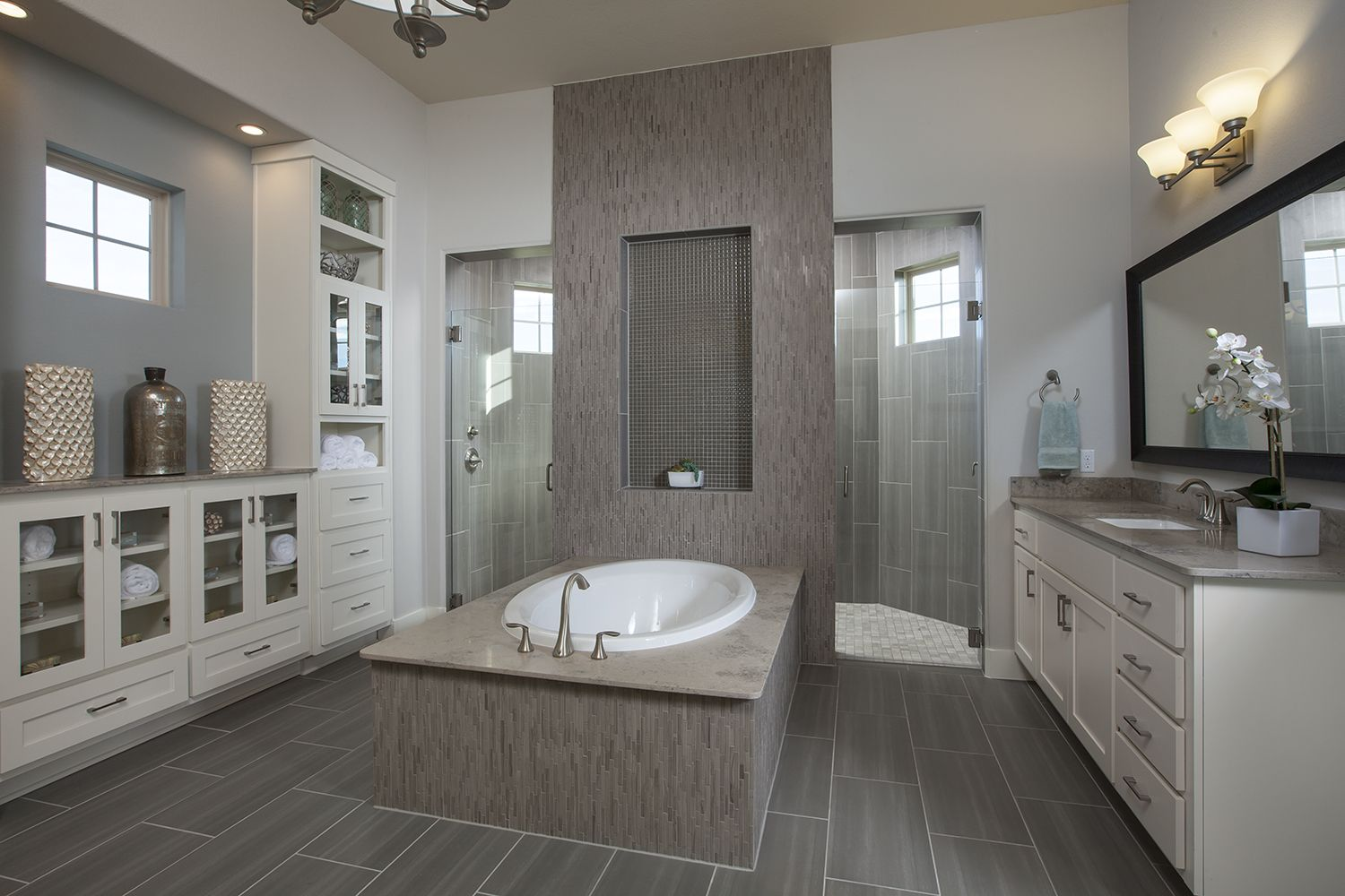 Coventry homes in rim rock master bathroom featuring a