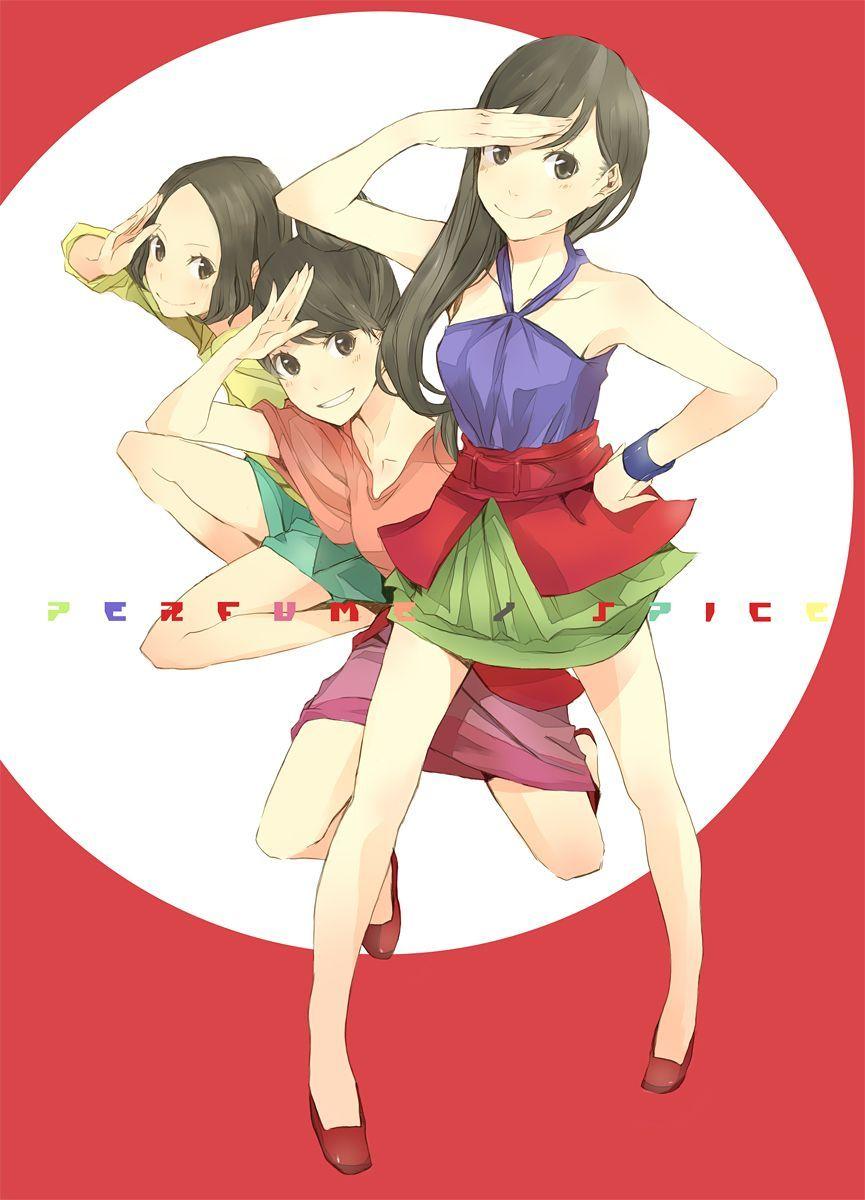 Perfume Perfumekpop Perfume Jpop Character Design Anime