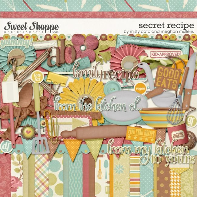 Secret Recipe by Misty Cato and Meghan Mullens