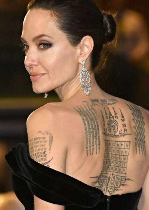 Angelina Jolie Tattoos 2019: 200+ Eye-Catching Cool Tattoo Ideas (September 2019