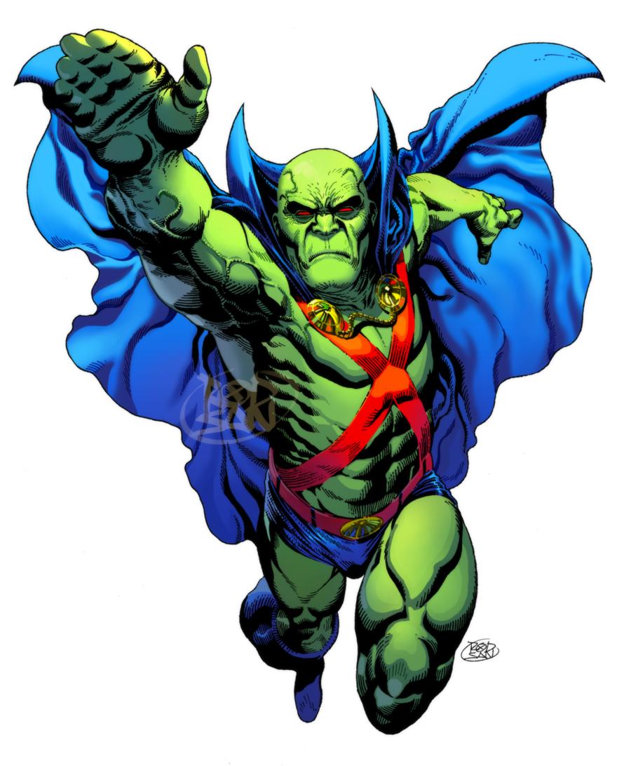 J Onn J Onzz By Adagadegelo Deviantart Com On Deviantart Martian Manhunter Martian Man Superhero Characters