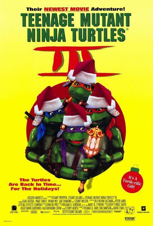 Teenage Mutant Ninja Turtles 3 1993 Teenage Mutant Ninja Turtles Movie Ninja Turtles Movie Ninja Turtles