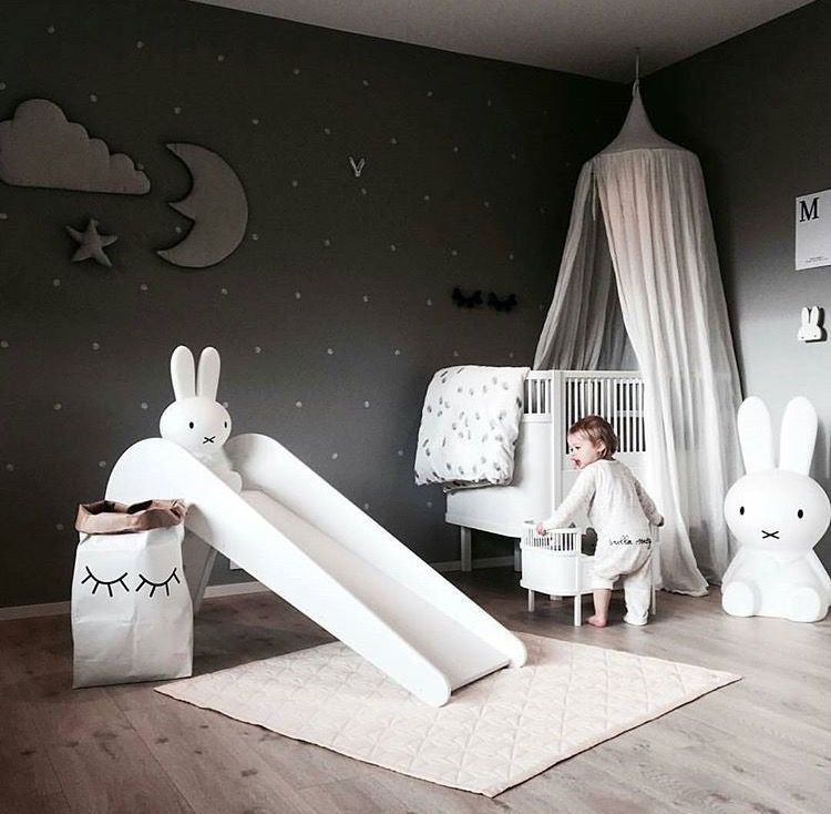 A cute kid's room | Miffy lamp available at www.istome.co.uk  http://hubz.info/124/short-wedding-hairstyle-ideas