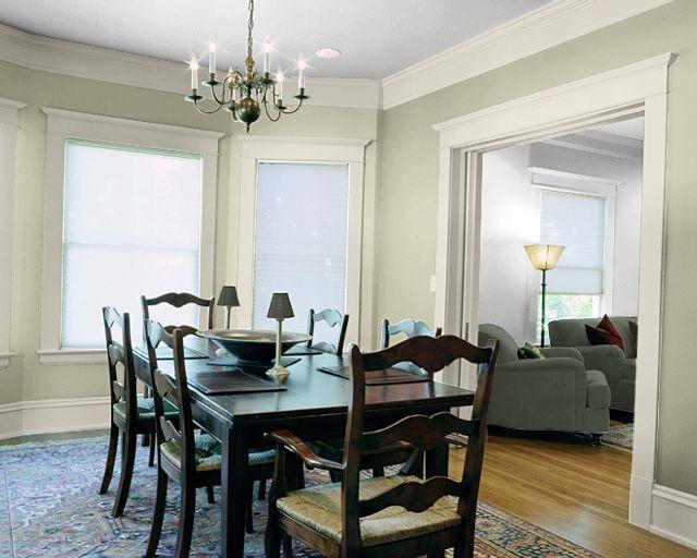 Sherwin William 39 S Grassland Walls And Creamy Trim Interior Colors We Love Pinterest